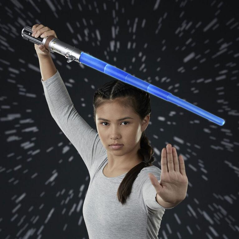 Star Wars sabre laser électronique de Rey (bleu)