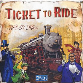 Ticket to Ride Game - English Edition