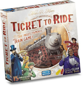 Ticket to Ride - English Edition - styles may vary