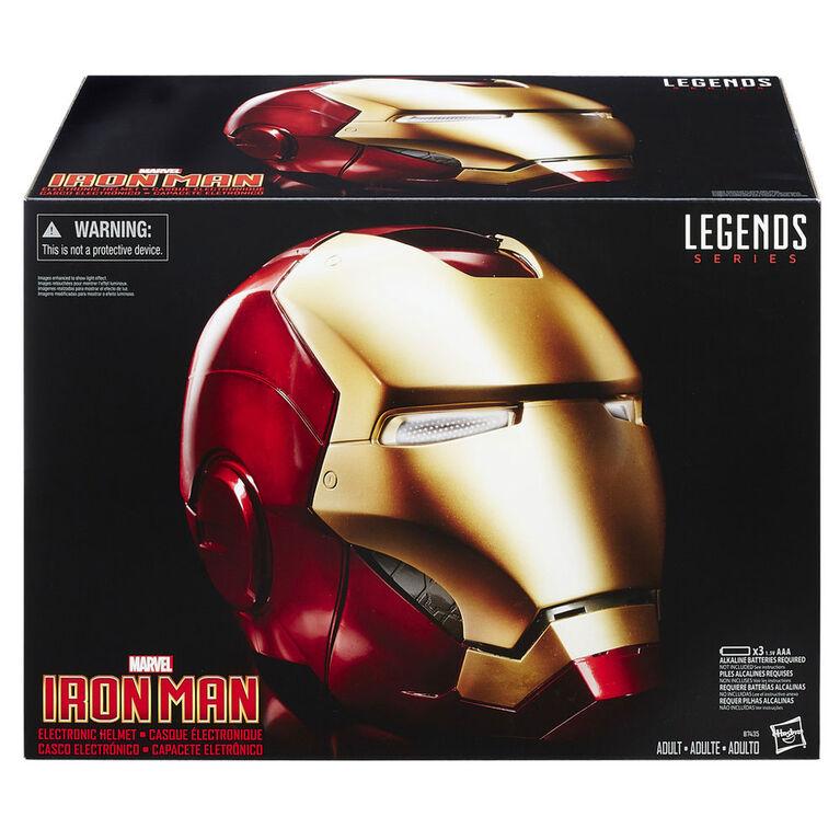 Marvel Legends Gear Iron Man Electronic Helmet
