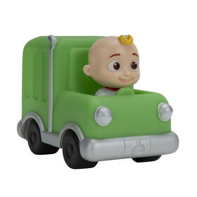CoComelon - Mini véhicules - Camion poubelle vert - Édition anglaise