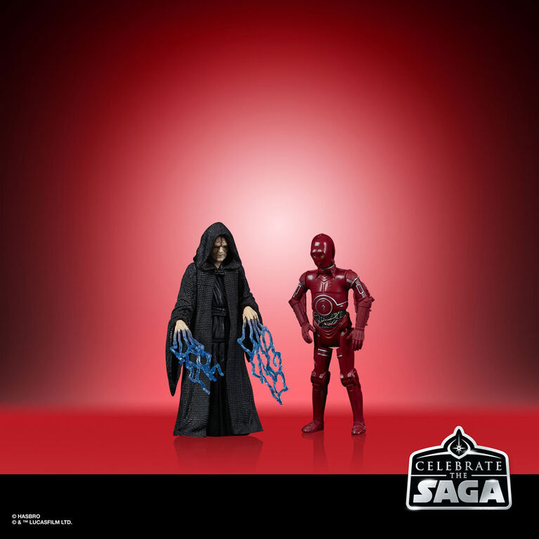 Star Wars Celebrate the Saga Toys Sith Action Figure Set 5-Pack, 3.75-Inch-Scale Collectible Figures - R Exclusive