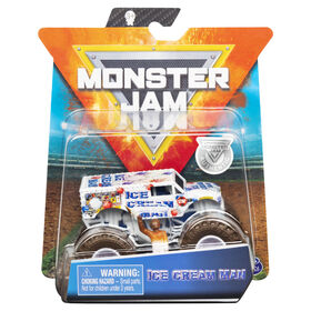 Monster Jam, Official Ice Cream Man Monster Truck, Die-Cast Vehicle, Arena Favorites Series, 1:64 Scale