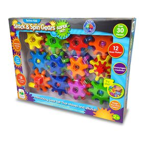 Techno Kids Stack & Spin Gears Super Set.
