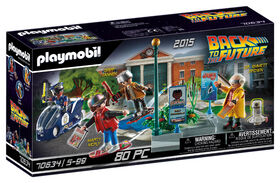 Playmobil - Back to the Future Part II Hoverboard Chase