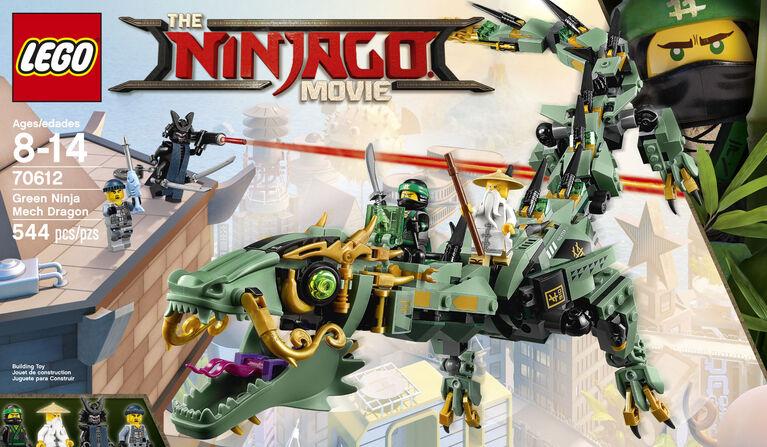 LEGO Ninjago Movie Green Ninja Mech Dragon 70612
