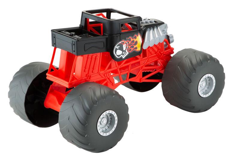 Hot Wheels - Camions Monstres - Véhicule Bone Shaker Lumières et Sons
