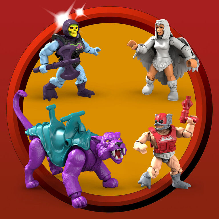 Mega Construx - Les Maîtres de l'Univers - Point Dread et Talon Fighter