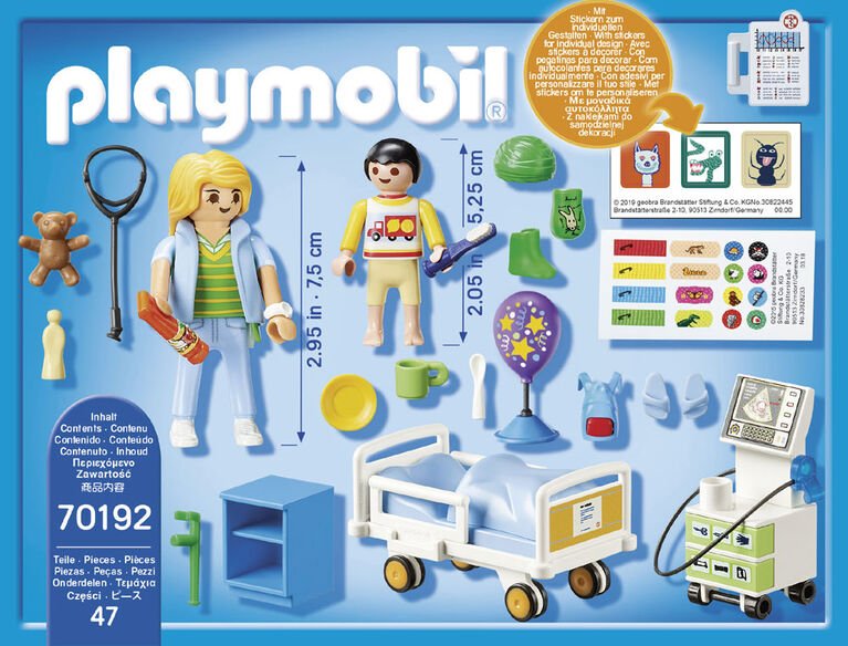 Playmobil - Children's Hospital Room