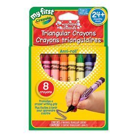 My First Triangular Crayons - 8 ct