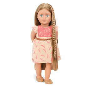 "Our Generation, Portia, ""From Hair To There"", 18-inch Hair Play Doll"