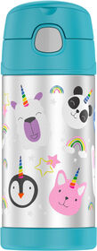 Thermos - FUNtainer Bottle - Rainbows - 12oz