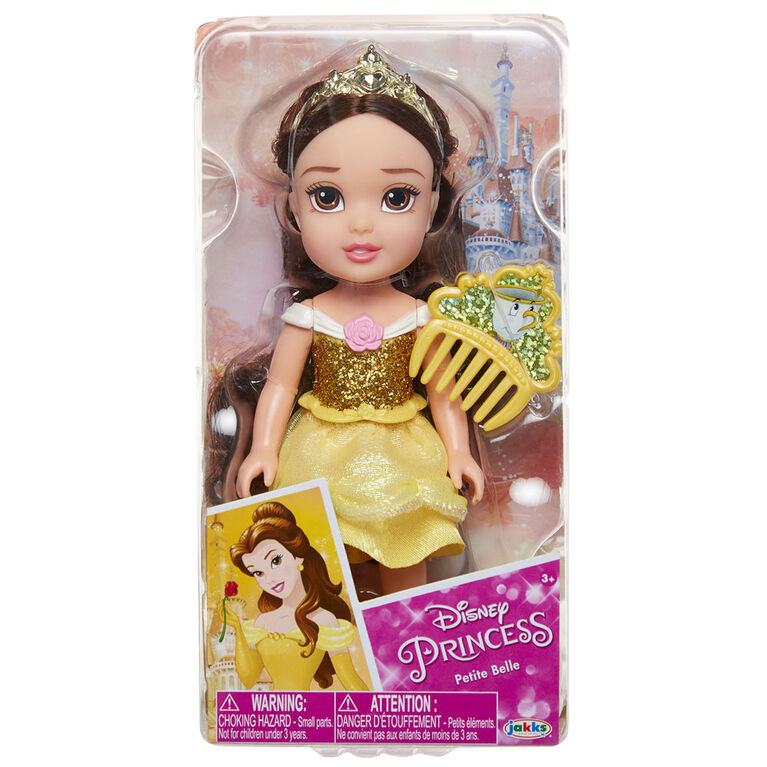 Petite Belle with Glittered Hard Bodice + Comb