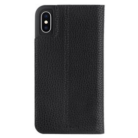 Case-Mate Barely There Folio iPhone Xs/X Black