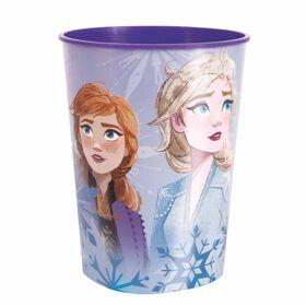 Frozen 16oz Plastic Cup