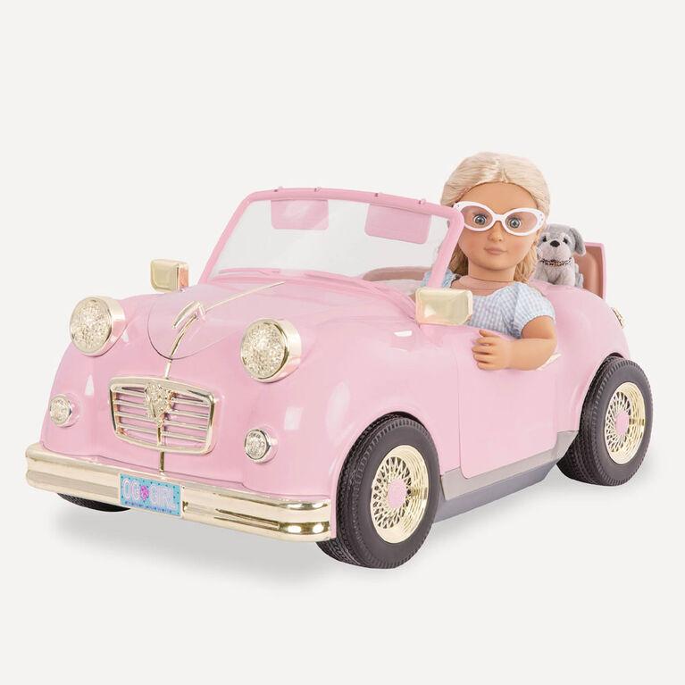 In The Driver'S Seat Retro Cruiser, Our Generation, Décapotable rétro pour poupées de 18po