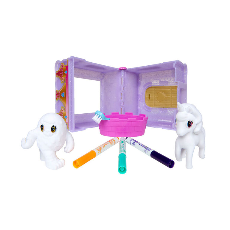 Crayola Scribble Scrubbie Peculiar Pets Palace Play Set