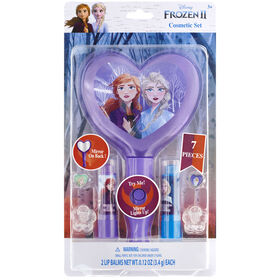 Frozen 2 - 2 Pack Lip Balm-Light Up Mirror