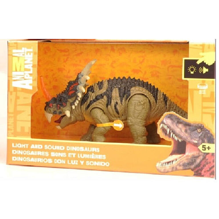 Animal Planet - Light and Sound Dinosaur - Velociraptor - R Exclusive