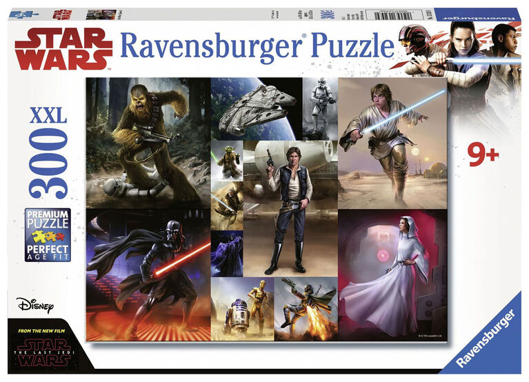 Ravensburger: Star Wars - The Last Jedi casse-tête (300pc)
