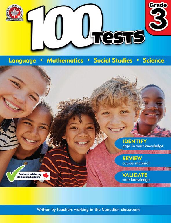 100 tests - Troisième année - Édition anglaise