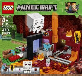 LEGO Minecraft Le portail du Nether 21143