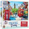 Travel Diary London - 550 Piece Jigsaw Puzzle