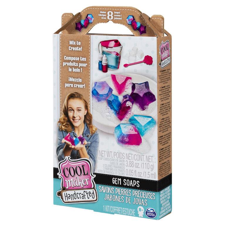 Cool Maker, Handcrafted Gem Soaps Activity Kit, Makes 8 Soaps