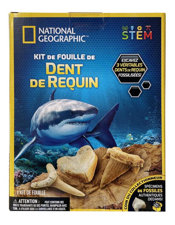 National Geographic - Trousse d'excavation de dents de requin