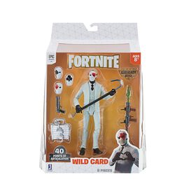 Fortnite Legendary Series 6in Figure Pack, Wild Card