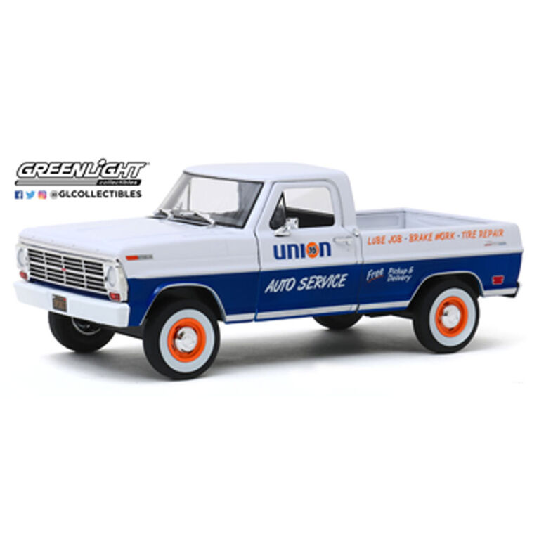 1:24 Running on Empty - 1968 Ford F-100 - Union 76 Auto Service - Édition anglaise