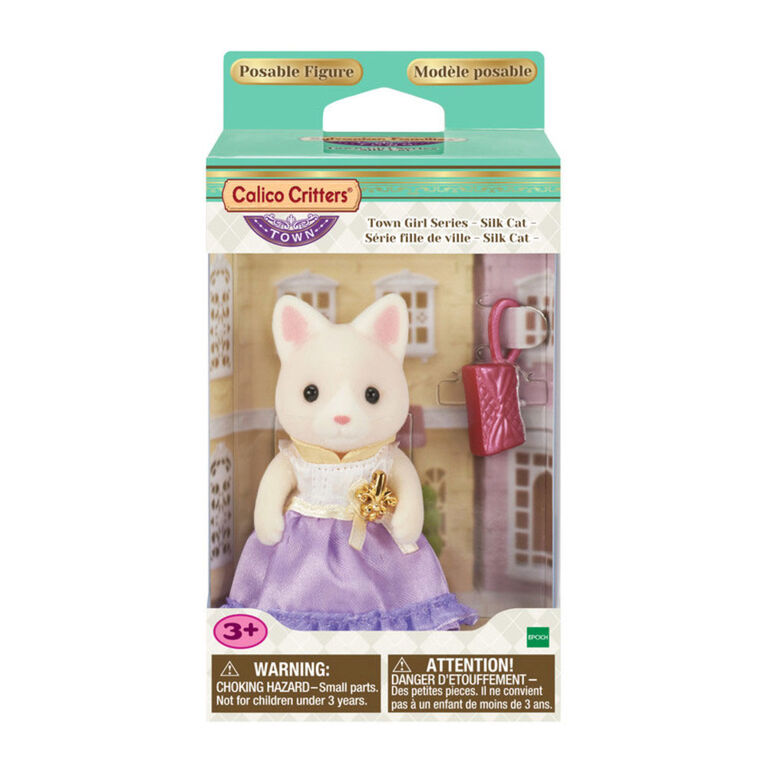 Calico Critters - Serie Town Girl - Lulu Silk Cat