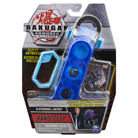 Bakugan, Baku-Clip Storage Accessory with Exclusive Fused Hydorous x Batrix Bakugan - R Exclusive