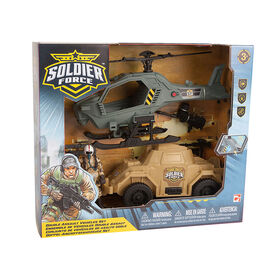 Soldier Force Double Assault Vehicles Set - R Exclusive
