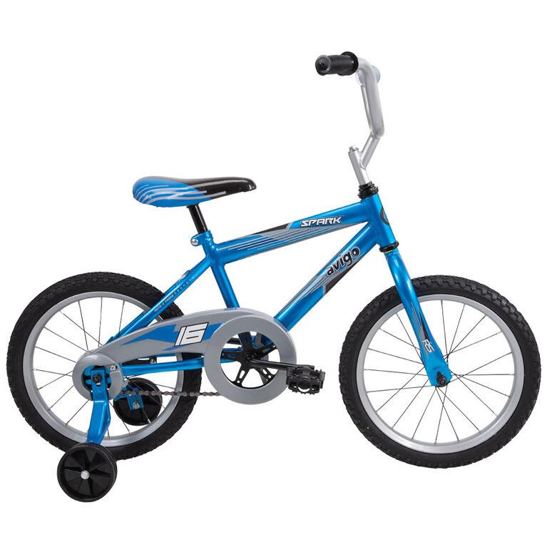Avigo Spark Bike, Blue - 16 inch