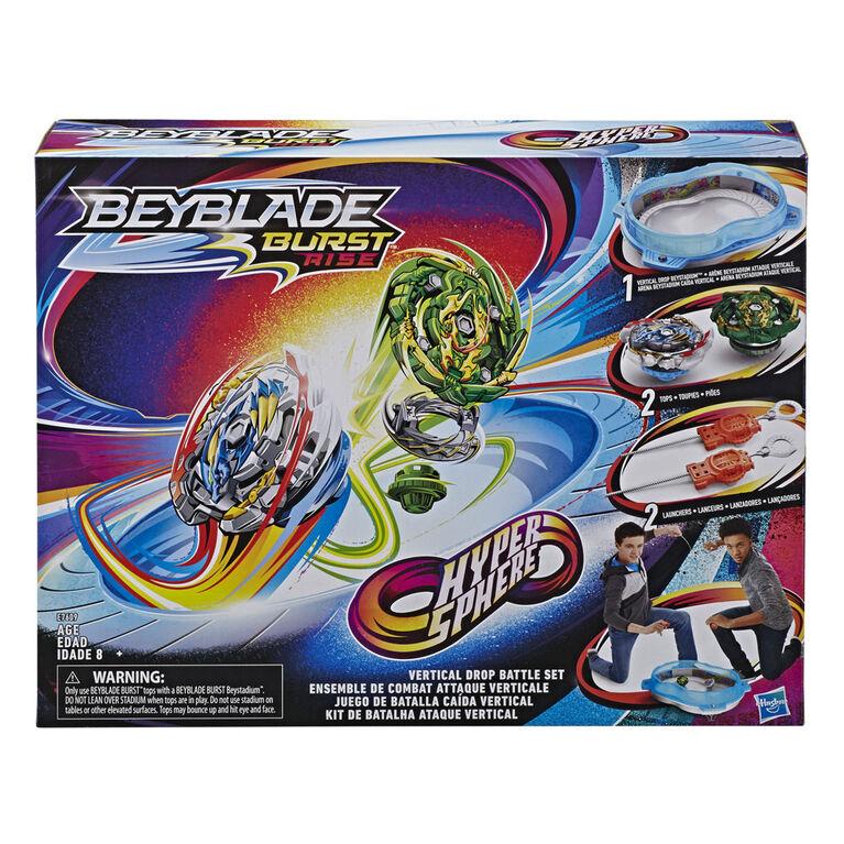 BEYBLADE Burst Rise Hypersphere Vertical Drop Battle Set Complete Set