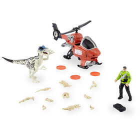 Animal Planet Dino Exploration Set - Helicopter