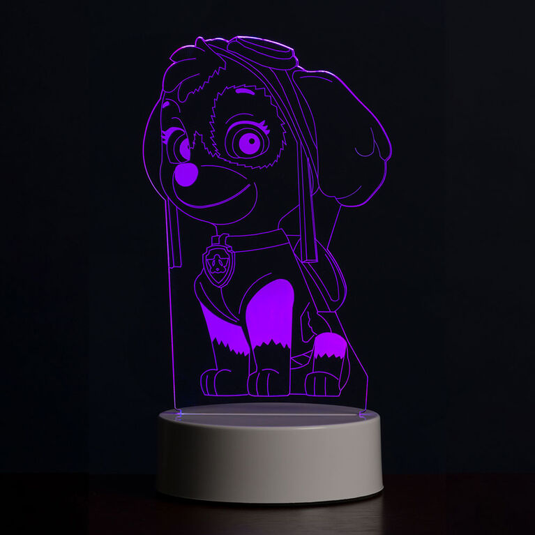 PAW Patrol 3D LED Night Light Skye