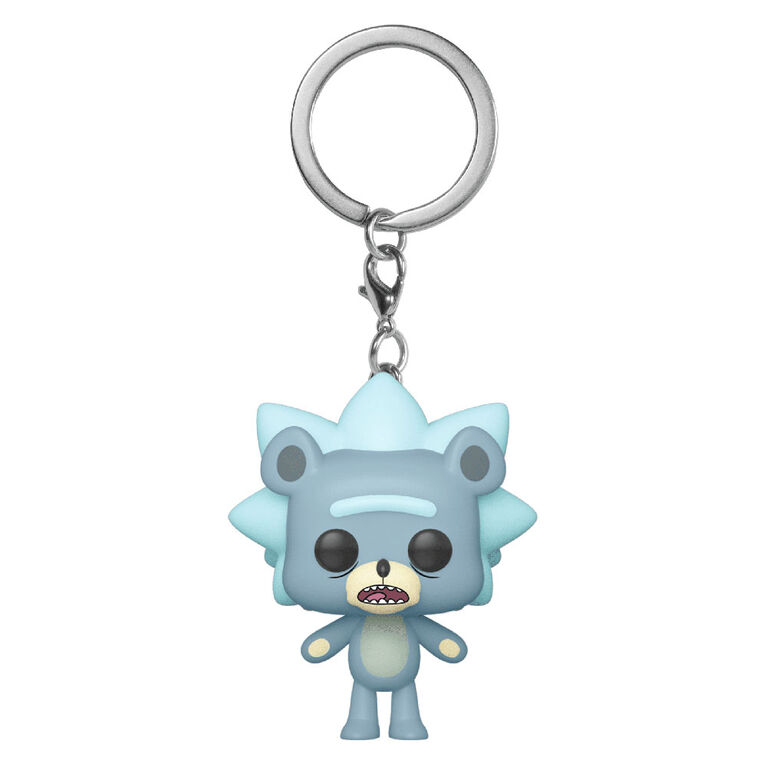 Figurine en Vinyle Teddy Rick Par Funko POP! Keychain Rick and Morty - Édition anglaise
