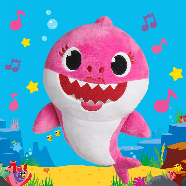 Pinkfong Baby Shark Official Song Doll  Daddy Shark  By WowWee