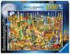 Ravensburger - World Landmarks at Night Puzzle 1000pc