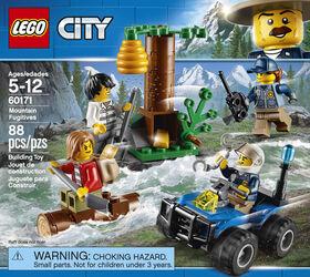 LEGO City Police L'évasion des bandits en montagne 60171