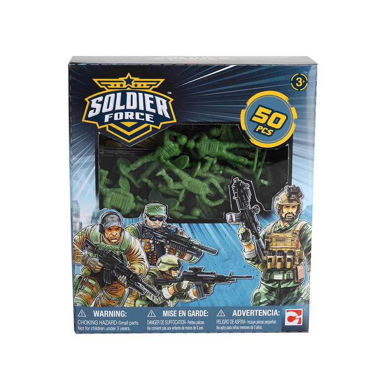 Soldier Force Bucket of Soldiers - R Exclusive