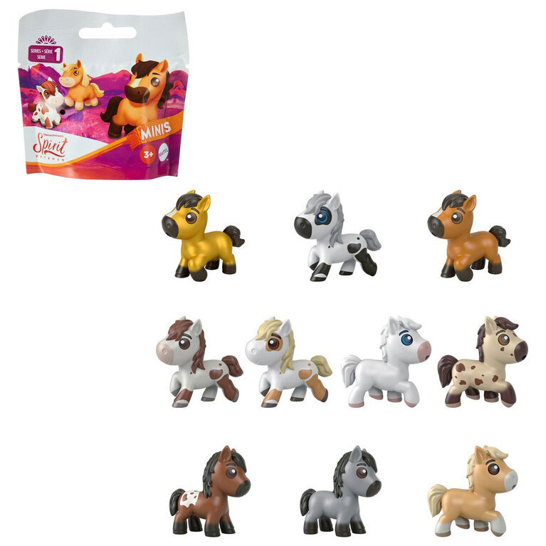 Spirit - Assortiment Mini-figurine poney - Les styles varient