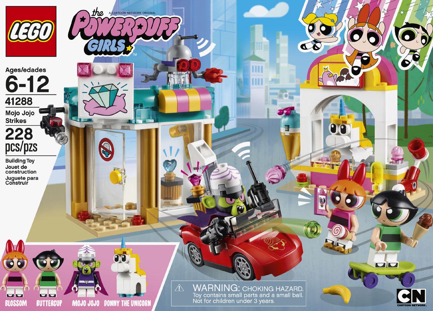 LEGO Powerpuff Girls MoJo JoJo Strikes set 41288 228 pcs NEW