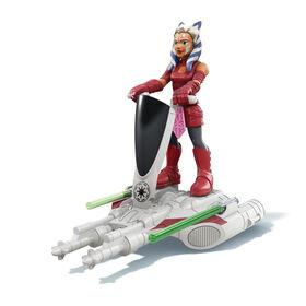 Star Wars Mission Fleet Gear Class Ahsoka Tano Aquatic Attack 2.5-Inch-Scale Figure and Vehicle
