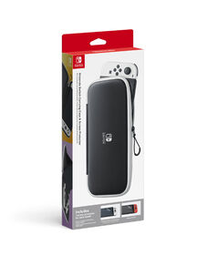 Nintendo Switch - Carrying Case and Screen Protector