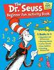 The Dr. Seuss Beginner Fun Activity Book - English Edition