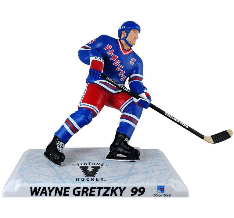 Wayne Gretzky Rangers New York LNH Légende Figurine 6'.