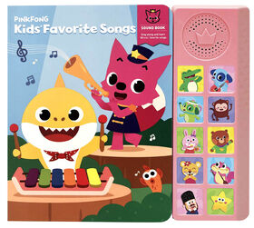 Livre sonore Pinkfong Kids Favorites Songs - Édition anglaise